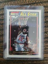 1992 TOPPS MICHAEL JORDAN 115 GOLD ALL STAR BASKETBALL CHICAGO BULLS