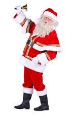 Nikolaus Santa Claus Weihnachtsmann Mantel Kostüm Nikolauskostüm Weihnachten