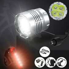 4x T6 LED Mountain Bike Lights Rechargeable Bicycle Front Lamp Waterproof