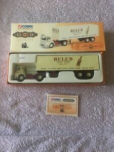 Corgi CLassics Whisky Collection 21303 AEC Ergomatic With Box Trailer - Bell's