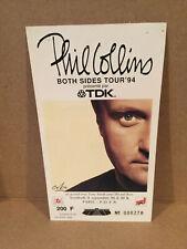 Phil Collins Concert Ticket Stub 9-9-1994 Paris