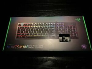 Razer Huntsman Elite Optomechanical Keyboard Spanish layout + Invoice