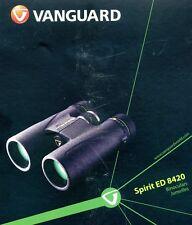 Vanguard 8x42 Binoculars Spirit ED 8420 Black NEW