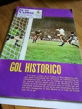 1975 Real Madrid official  football magazine