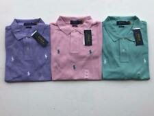 NEW POLO RALPH LAUREN ALLOVER PONY CLASSIC FIT MESH MENS SHIRT ALL OVER