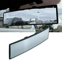 Car Rear Mirror Wide Angle Curved Auto Rear view Clip On Interior Mirror 270mm