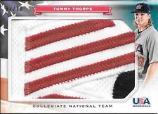 2013 Panini USA Baseball #20 Tommy Thorpe Jumbo 3 Color LOGO Patch #07/10