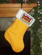 Minneapolis Moline Tractor Christmas Stocking Gift