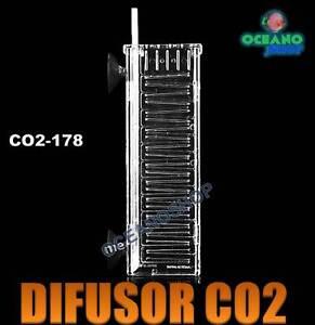 DIFUSOR CO2 DE ACUARIO PLANTADO DISUELVE MEJOR!! PLANTAS ABONO PECERA TAPIZADO