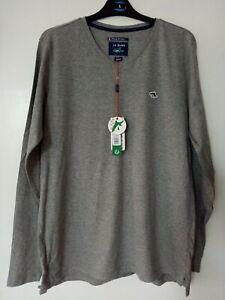 Le Shark Long Sleeve T-Shirt Size Large BNWT Grey