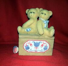 "Cherished Teddies - Stanley & Valerie #476676 ""Togetherness Is The Reason..."""