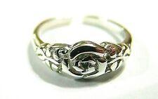 Silver 925 Flower Toe Ring Kaedesigns New Genuine Solid Sterling