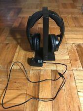 Sony MDR-RF985R RF Wireless Stereo Headphones and Transmitter Black TMR-RF985R