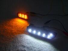 DEPO 99-04 VW GOLF/GTI/JETTA 4 CLEAR WHITE LED BUMPER SIDE MARKER LIGHT + FENDER