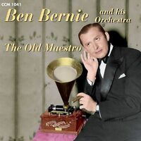 FREE US SHIP. on ANY 3+ CDs! NEW CD Ben Bernie & His Orchestra: The Old Maestro