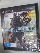 Transformers Dark of The Moon Sony PlayStation 3 PS3