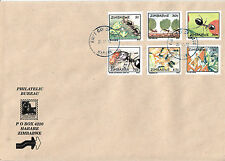 Zimbabwe 2012 FDC Ants & Termites 6v Set Cover Matabele Soldier Ant Insects