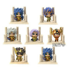 Anime 7Pcs Saint Seiya Mini Toy Figure Figurine Doll Vol.1 New in Box