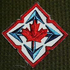 CANADIAN ARMY CLOTH BADGE - MOBILE COMMAND - NEW - LR/SV