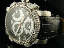 NEW AQUA MASTER JOE RODEO SWISS AUTO DIAMOND WATCH 3.5C