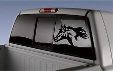 Horses Head Horse Trailer Truck Window RV Camper Decal Sticker 8x11.5