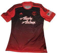 Authentic Adidas Climacool Portland Timbers Away Soccer Jersey MLS SIGNED Large