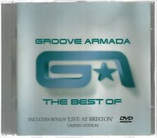 Groove Armada - The Best Of (2004) 2 Disc CD/DVD...Limited Edition..Used VG..