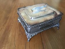 ANTIQUE SARDINE DISH BOX WALKER & HALL SHEFFIELD LOVELY !!