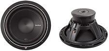 2) Rockford Fosgate Punch P1S2-15 15-Inch 1000W 2-Ohm Power Car Audio Subwoofers