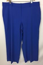 Lane Bryant Blue Dress Career Pants Plus Size 24 Regular