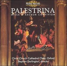 Christ Church Cathedral Choir, Oxford Palestrina: Missa O Sacrum Convivium CD