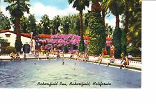Bakersfield, CA  Swimming Pool At Bakersfield Inn  1930s