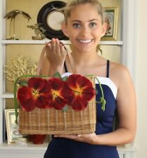 FAMOUS Poppy Wicker Basket Bag VINTAGE kate spade HERE IT IS!