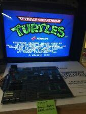 TMNT Teenage Mutant Ninja Turtles Arcade PCB JAMMA Board Konami Working