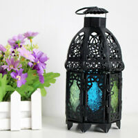MOROCCAN LANTERN METAL TEALIGHT CANDLE HOLDER LAMP TABLE DECOR CRAFTS GIFT