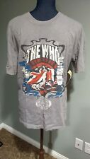 New THE WHO Rock and Roll Hall of Fame T-shirt Inductee Collection Large