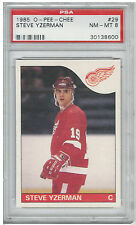 1985 Steve Yzerman O-Pee-Chee OPC #29 PSA 8 NM-MT Hockey Card