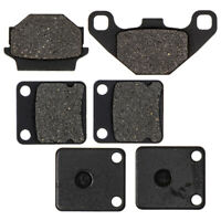 8TEN Semi-Metallic Brake Pad Kit For 2007-2019 Yamaha Grizzly 700 Replaces 3B4-W0045-10 3B4-W0046-00-00 3B4-W0046-10