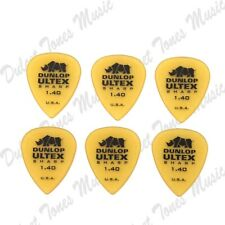 6 x Dunlop Ultex Sharp EXTRA HEAVY 1.4mm Guitar Picks Plectrum *FAST POST*