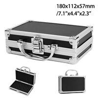 Portable Suitcase Tool Box Storage Aluminium Alloy Case Organizer Handle &Sponge