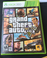 Microsoft Xbox 360 Video Game Grand Theft Auto V (GTA 5) - Tested