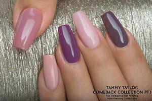 Tammy Taylor Nails Manicure Soak off Gel Polish COMEBACK COLLECTION PT.1