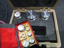 IBM/Rice Lake Weighing Systems Calibration 12 Piece Weight Set  1/32oz -2lb