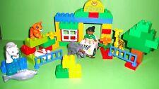 LEGO DUPLO 6136 Mein erster Zoo,Elefant,Giraffe,Eisbär,..Set komplett