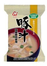 Amano Foods Additive- Instant Miso Soup Pork Vegetables10 Meals Set Japan