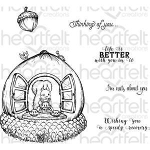 Heartfelt Creations Stamps ~ OAKBERRY COTTAGE AND SENTIMENTS ~ HCPC3840