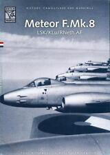 Dutch Profile Books METEOR F.Mk.8 in the Royal Netherlands Air Force