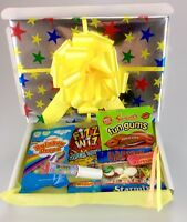Retro Mix Sweets GIFT Box Sweet Hamper Candy Present Birthday His Hers Valentine