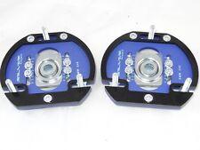 Camber Plates E46 3D 2WAY Drift BMW top mounts blue