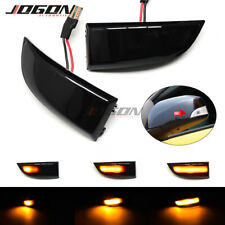 For Renault Megane MK3 Scenic Fluence LED Dynamic Turn Signal Side Mirror Light
